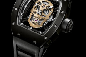 Richard Mille RM 52-01 Skull watch.