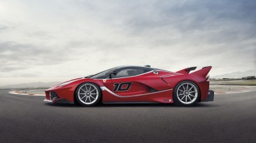 All new LaFerrari FXX K.