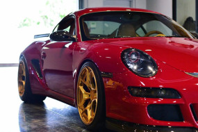 Road Scholars Porsche Cayman GTR Build #FNH
