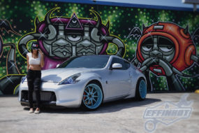 Tony's effinhot Nissan 370Z GTR Hybrid build.